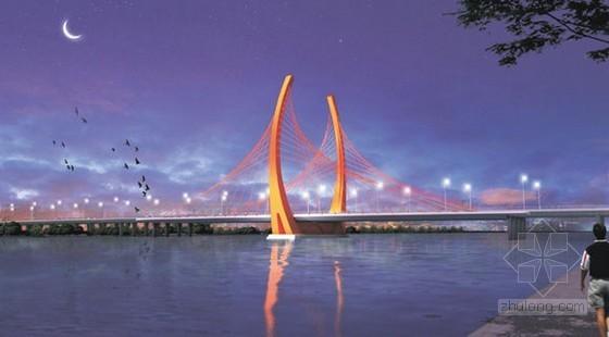100m跨径支承体系独塔斜拉桥超全施工组织设计(412页图文丰富)