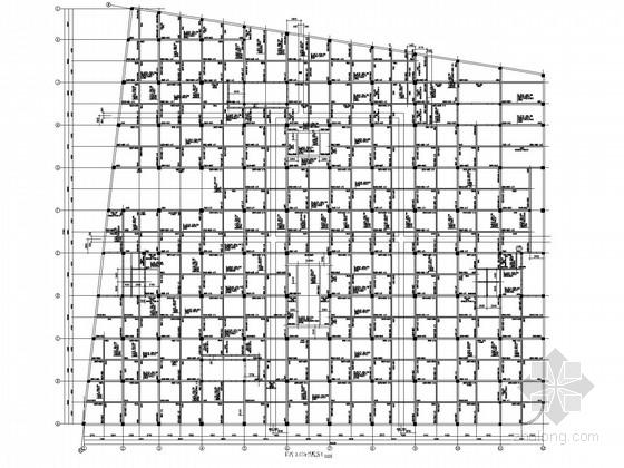 商业中心框架剪力墙结构施工图