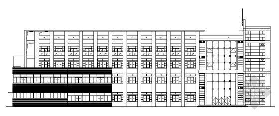 上海某软件公司办公楼建筑施工图