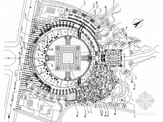 [重庆]生活文化广场景观工程施工图