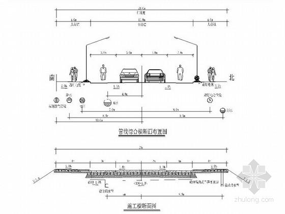 [安徽]市政道路排水工程施工图设计17张