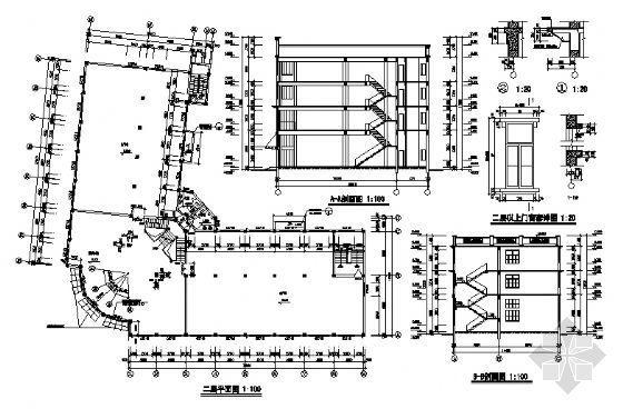 某四层厂房建筑设计图-3