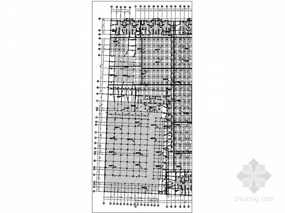 [江西]单层现浇框架结构地下车库结构施工图