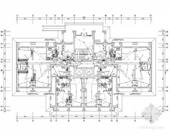 [新疆]高档小区高层住宅电气施工图(甲级院设计)