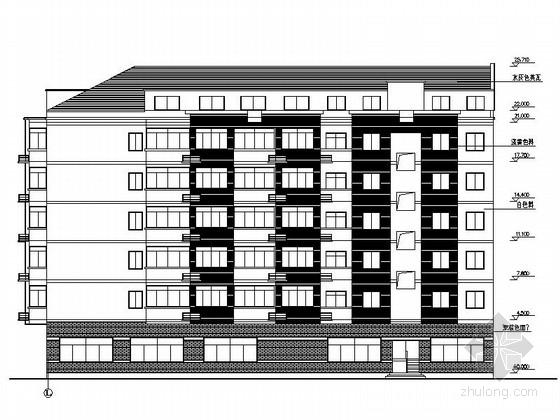 多层宿舍楼建筑施工图