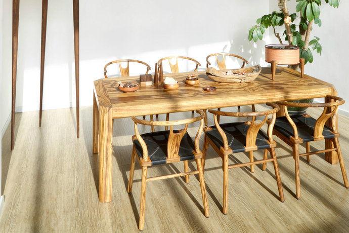 现代田园风格三居室厨房设计图赏