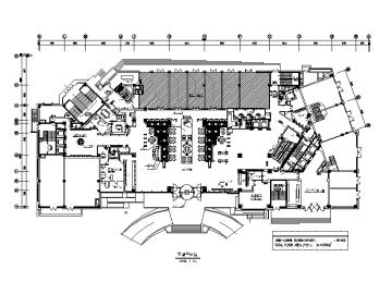 【辽宁】星级商务休闲酒店设计CAD施工图(含实景图)