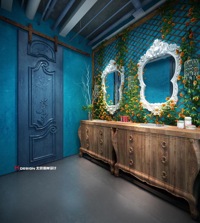 咖啡厅设计公司推荐-海岸咖啡厅设计_12