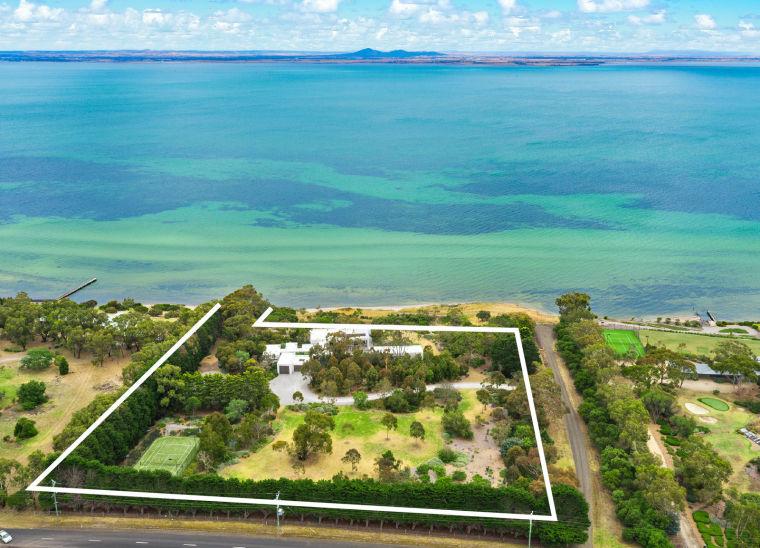万漪景观分享-澳大利亚艺术感全景海滨住宅
