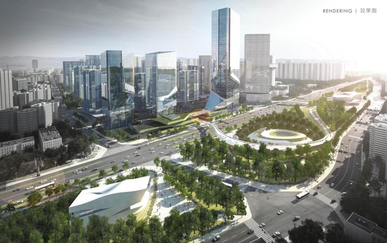 [成都]超现代风格城市综合体建筑设计方案文本(知名地产)
