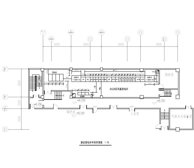 山东济南新世界非配套酒店公建机电设备施工图