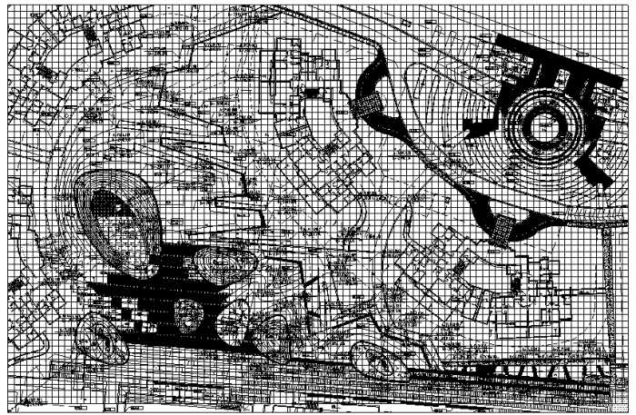 游戏区及大道区定位图