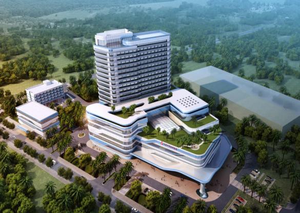 三亚市妇幼保健院整体搬迁(新址)建设项目BIM应用
