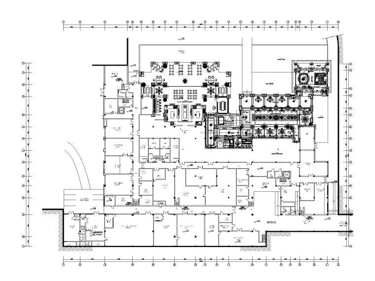[海南]三亚海棠湾康莱德酒店设计施工图(附室内|建筑|景观效果图)