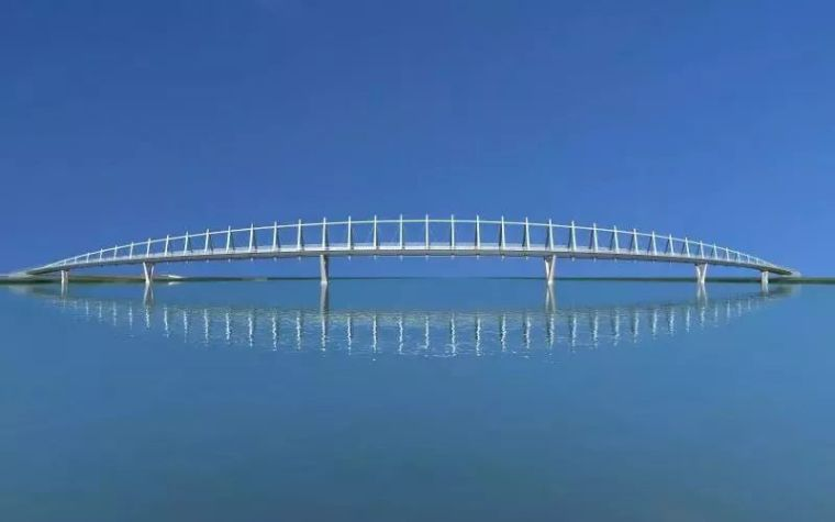 """太原""""汾河之冠""""人行景观桥,尽展结构技艺之美!"""