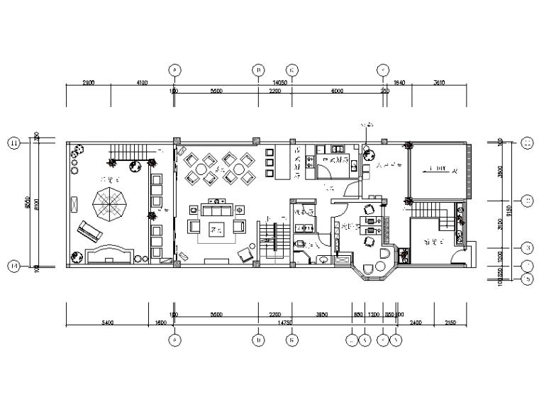 [四川]-整套简欧风别墅设计施工图+效果图