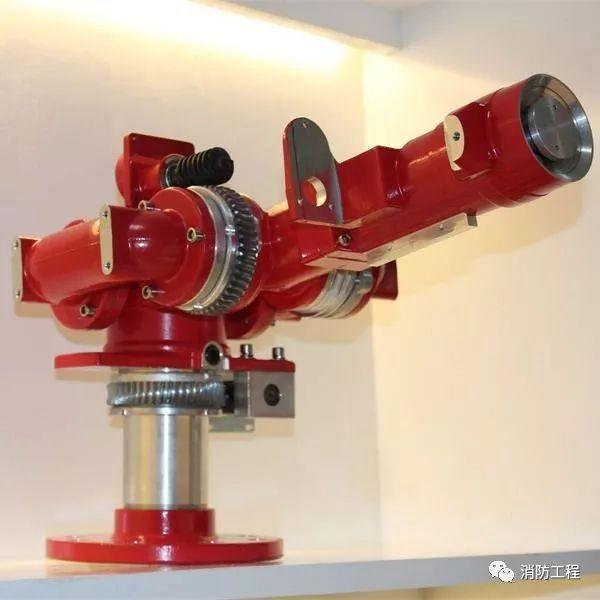 自动消防水炮灭火系统的特点、组成及各部分作用介绍