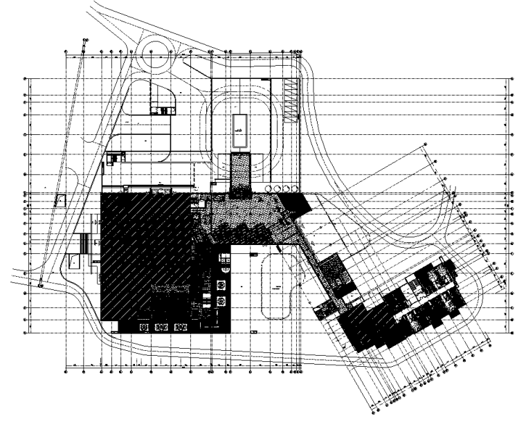 重庆申基秀山豪生酒店施工图设计+效果图