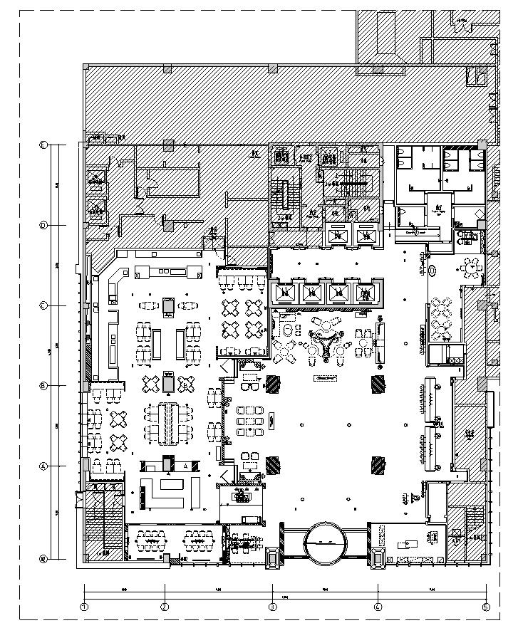 十堰希尔顿逸林酒店  施工图+实景照片