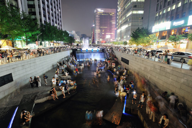 韩国ChonGae运河修复工程_6
