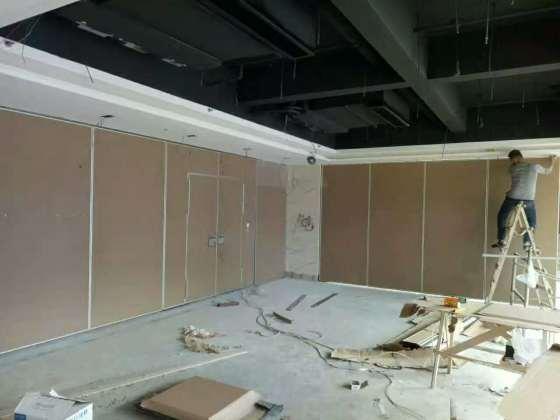 赛勒尔活动隔断会议厅隔音移动隔断墙隔音防潮