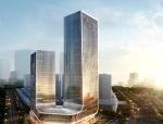 [湖南]超高层双塔式酒店办公中心建筑设计方案文本