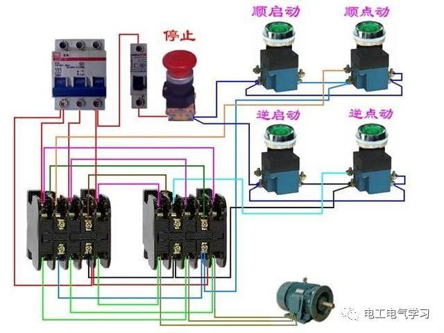 【电工必备】开关照明电机断路器接线图大全非常值得收藏!_62