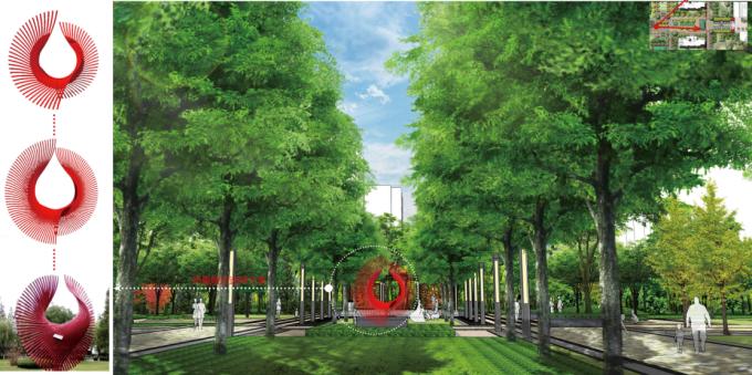 [宁夏]滨湖古典主义高端生态居住区景观设计全套施工图_12