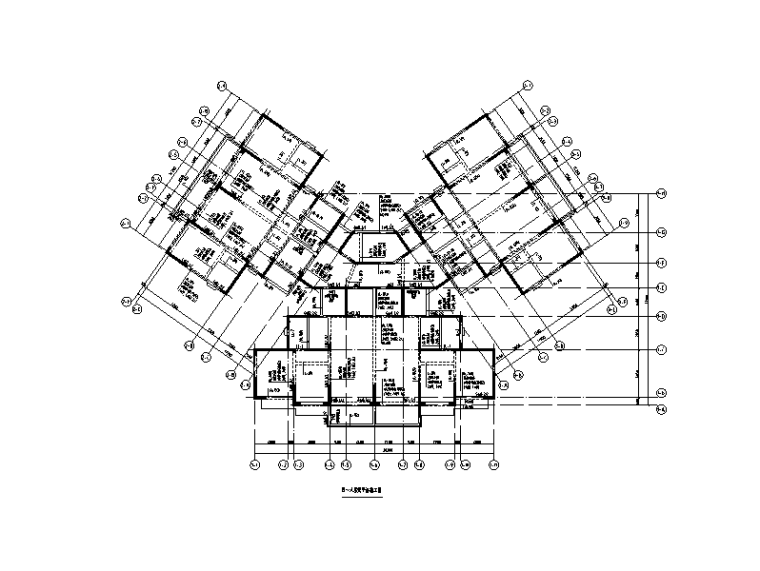 住宅楼+商业综合楼+地下室全套结构施工图