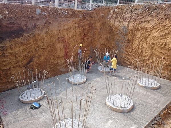 钻孔灌注桩超前钻桩基检测