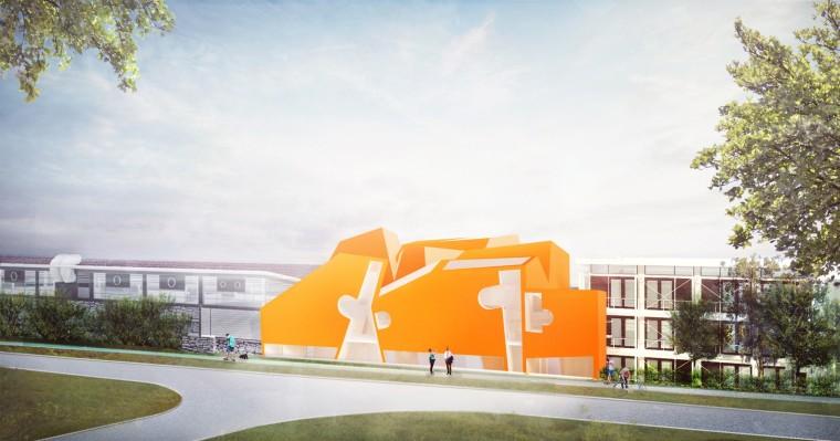 伯恩茅斯艺术大学创意中心-2