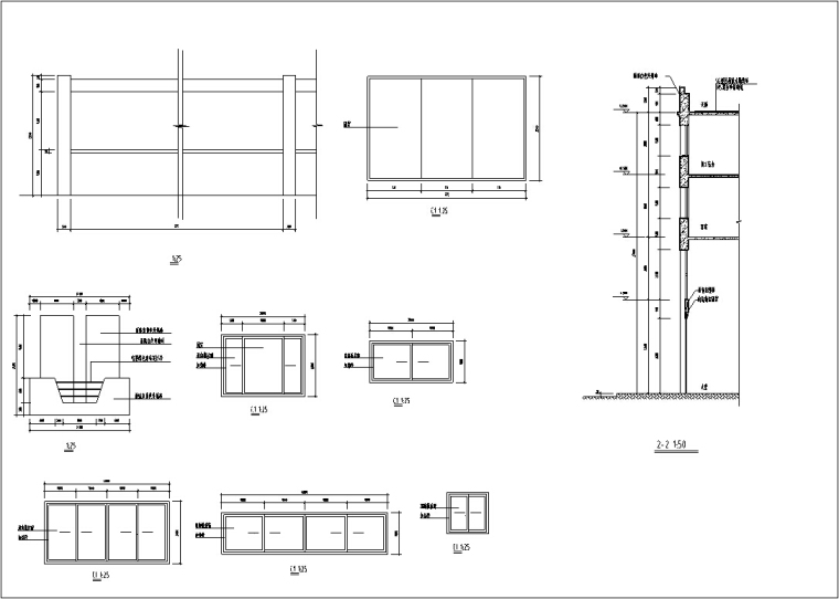 5套现代多层宾馆酒店建筑设计施工图CAD-豪泉多层酒店建筑设计门窗图