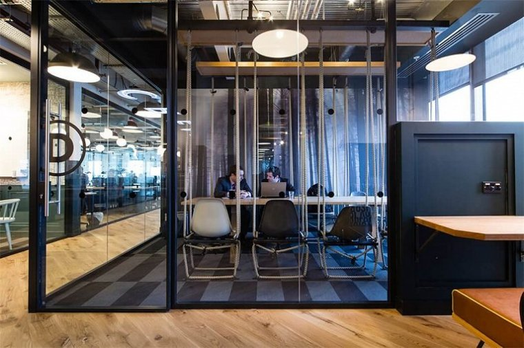 咖啡厅风格的联合办公空间-帕丁顿区WEWORK联合办公室室内实景图 (18)