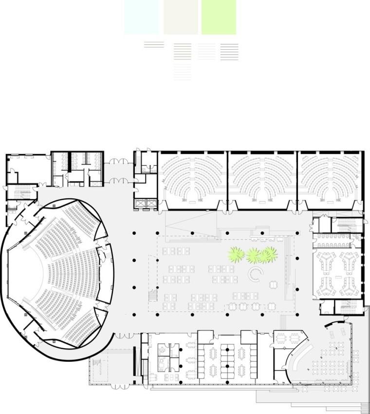 劳里埃大学拉扎里迪斯大楼平面图 (16)