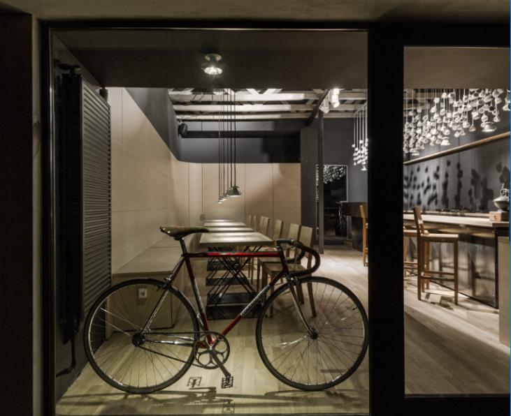 欧瑞格咖啡店室内装修设计实景图(18张)
