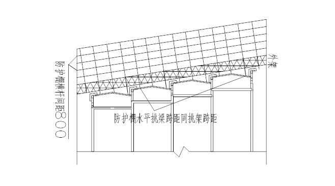 中建高层悬挑防护棚施工方案