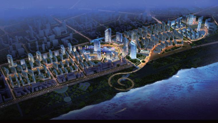 【湖北】武汉万科城市花园后期地块城市概念设计方案文本