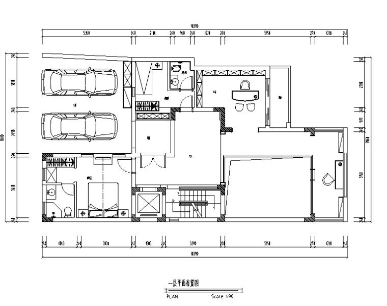现代奢华三层别墅设计施工图(附效果图)