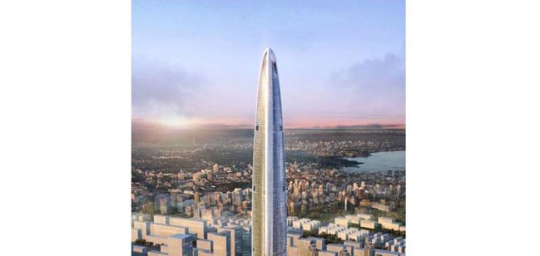 [武汉绿地中心项目]商业及副楼区地上钢筋工程施工方案
