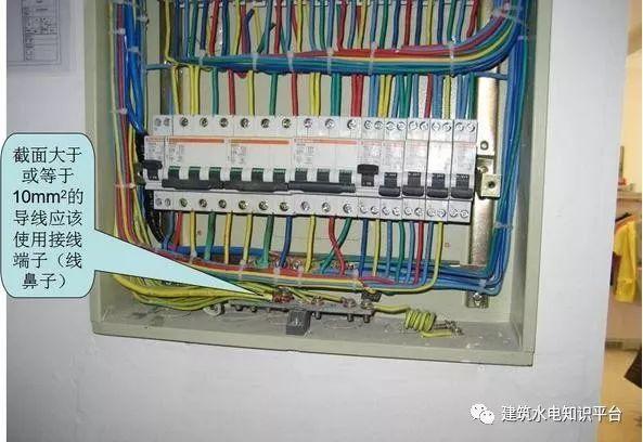 建筑电气工程施工质量通病和解决方法(现场施工图片解说)_30