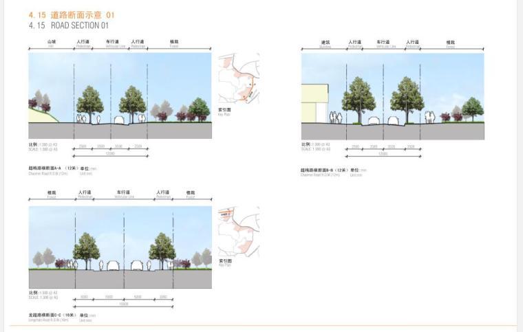 [浙江]某居住区竞赛文本景观设计方案(包含PDCAD室内设计文件和床沙发图片