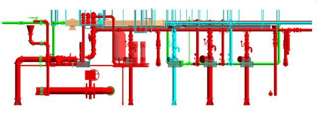 BIM技術應用於風管水管預製安裝的實例賞析_10