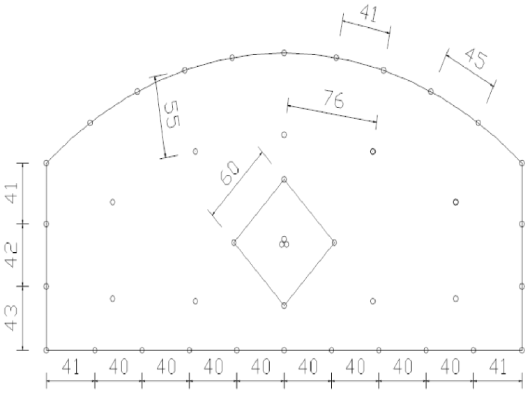 [湖北]钢桁架悬索特大桥隧道式锚碇拉拔试验模型的施工方案