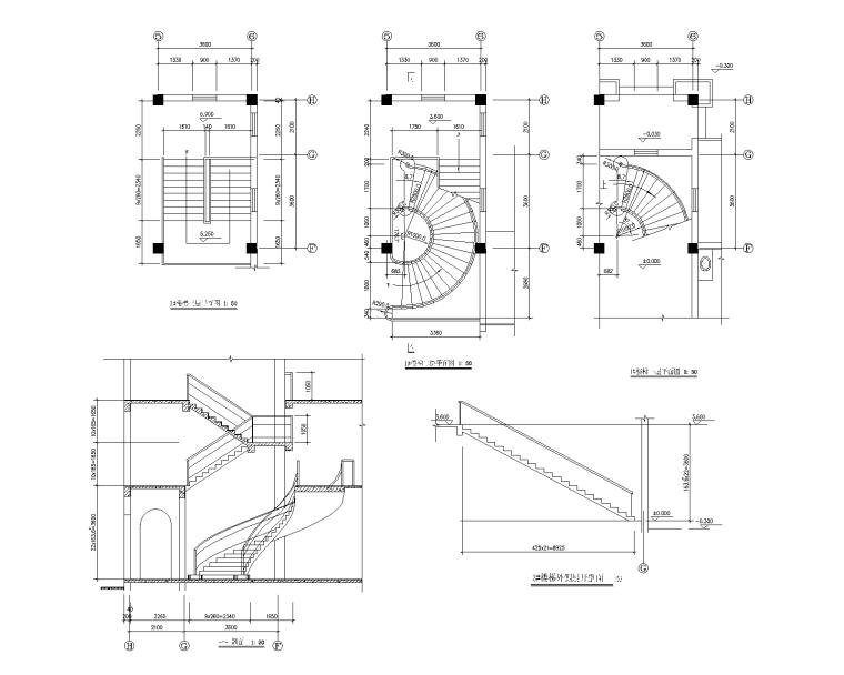 特色园林景观建筑设计施工图-03-Model