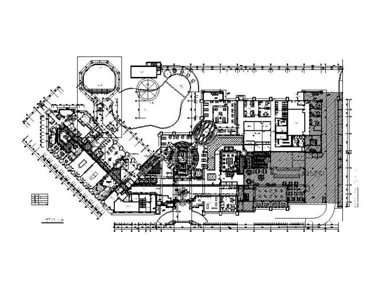 [江苏]全套高端酒店设计CAD施工图(含实景图)