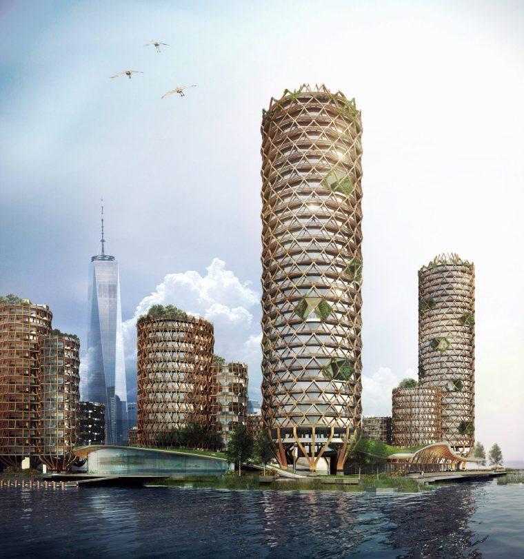 格构式公寓塔楼案例(美国)
