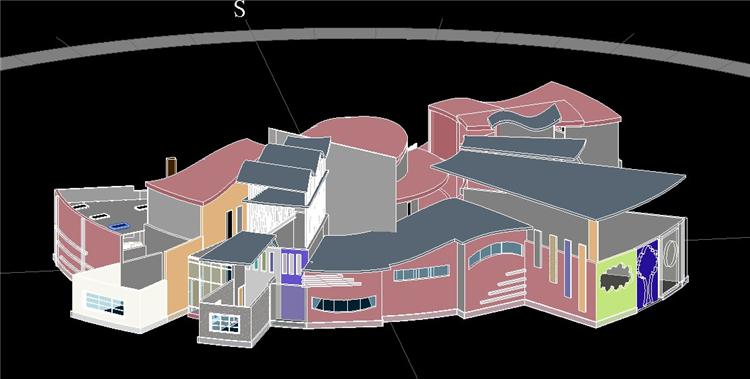 BIM模型-revit模型-幼儿园设计方案