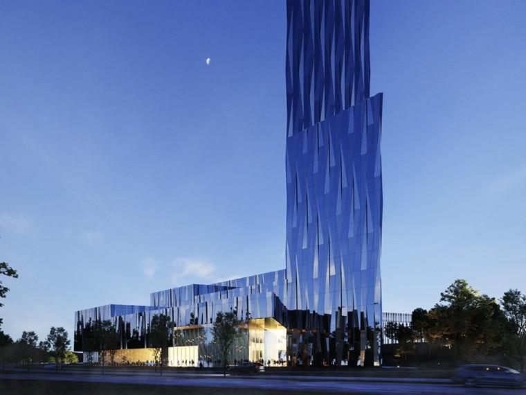 挪威TheBigBlue办公大厦