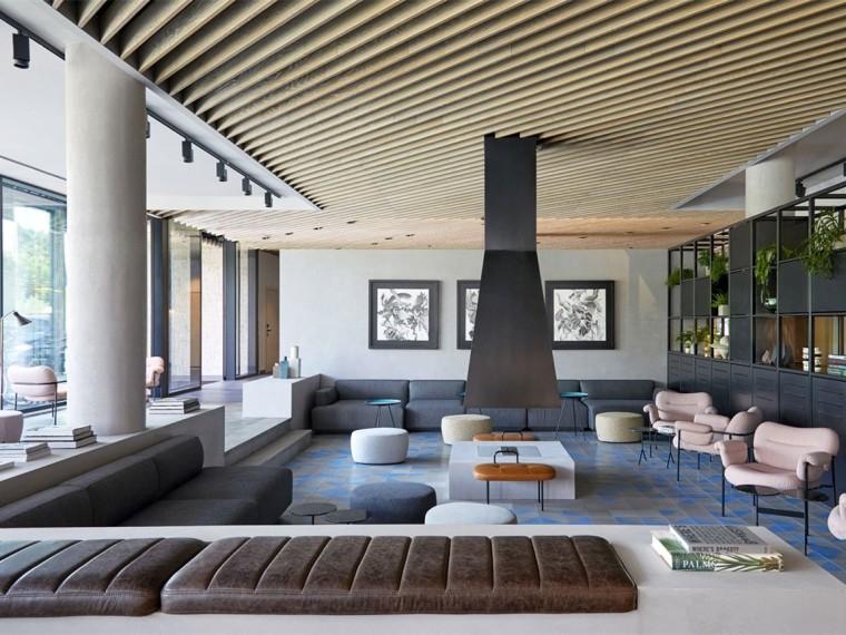 波西米亚风格的现代主义酒店
