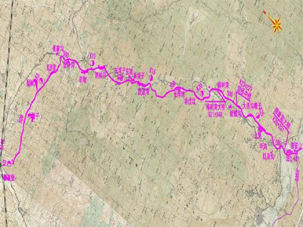 山岭重丘区29km两车道二级公路工程图纸612张CAD(连续T梁桥,现浇板桥,明涵暗涵)